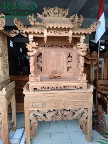 meja altar meja joli meja sembahyang agama indonesia,